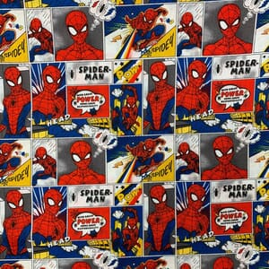 Amazing Spiderman Quilting Fabric