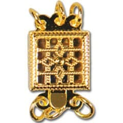 Small Image of Sq Necklace Clasp CH9300
