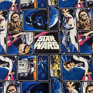 Visage Star Wars Classic Painted Characters Fabric