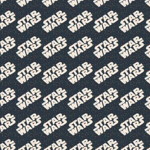 Star Wars Fabric Rainbow Logo