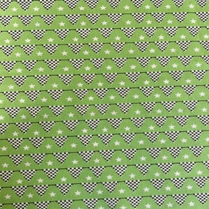 Craft Cotton Company Starting Flag Bunting Green
