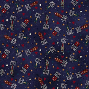 Base Image of Stof Bless This Home Quilting Fabric 4703-393