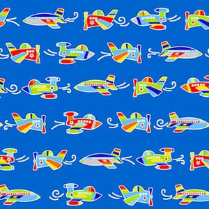 Base Image of Stof Air Show Quilting Fabric 4704-047