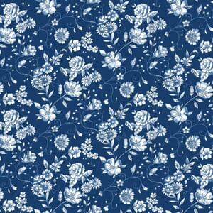 Base Image of Stof Woodland Forest Quilting Fabric 4801-179