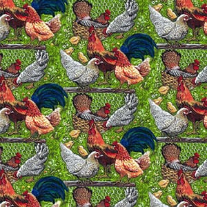 Base Image of Stof Down on the Farm Quilting Fabric 4801-189