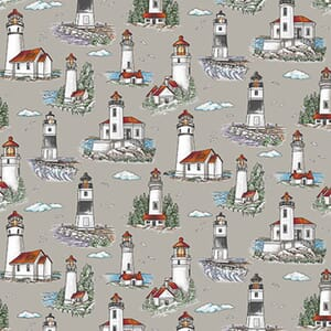Base Image of Stof Lighthouse Wonders Quilting Fabric 4801-386
