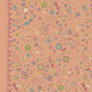 Base Image of Anni Downs Garden Whimsey Quilting Fabric 4703-475