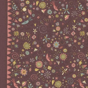 Base Image of Anni Downs Garden Whimsey Quilting Fabric 4703-476