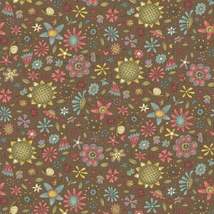 Base Image of Anni Downs Garden Whimsey Quilting Fabric 4703-478