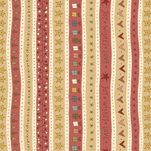 Base Image of Anni Downs Celebrating Christmas Quilting Fabric 4790-385