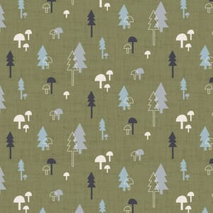 Base Image of Stof Quilting Fabric Hush-A-Bye Woods 4500-840