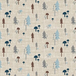 Base Image of Stof Quilting Fabric Hush-A-Bye Woods 4500-841