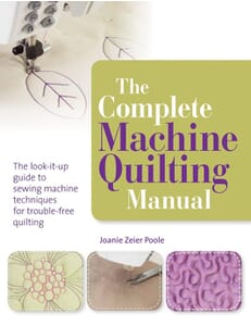 The Complete Machine Quilting Manual Book