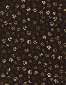 Small Image of Timeless Treasures Patchwork Fabric Paw Prints