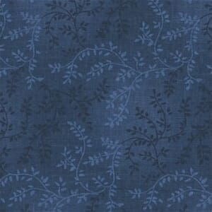 Quilt Backing Fabric Tonal Vineyard Midnight Blue 108 Inch Wide