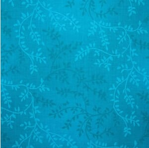 Quilt Backing Fabric Tonal Vineyard Turquoise 108 Inch Wide