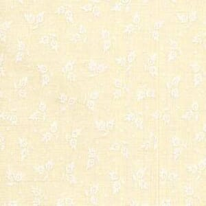 Small Image of White on Natural Tone on Tone Cotton Fabric 36244 TWT
