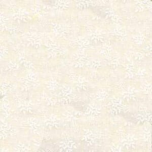 Small Image of White on White Tone on Tone Cotton Fabric 36249-WW