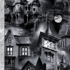 Timeless Treasures Wicked Haunted Houses