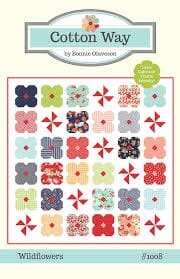 Small Image of Cotton Way Wildflowers Quilt Pattern by Bonnie Olaveson