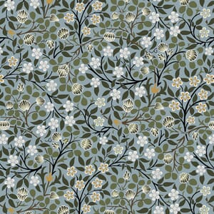 William Morris Fabric Collection V And A Clover Mural