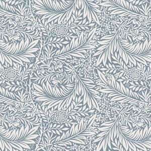 William Morris Fabric Collection V And A Larkspur