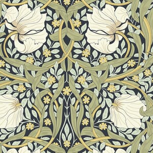 William Morris Fabric Collection V And A Pimpernel