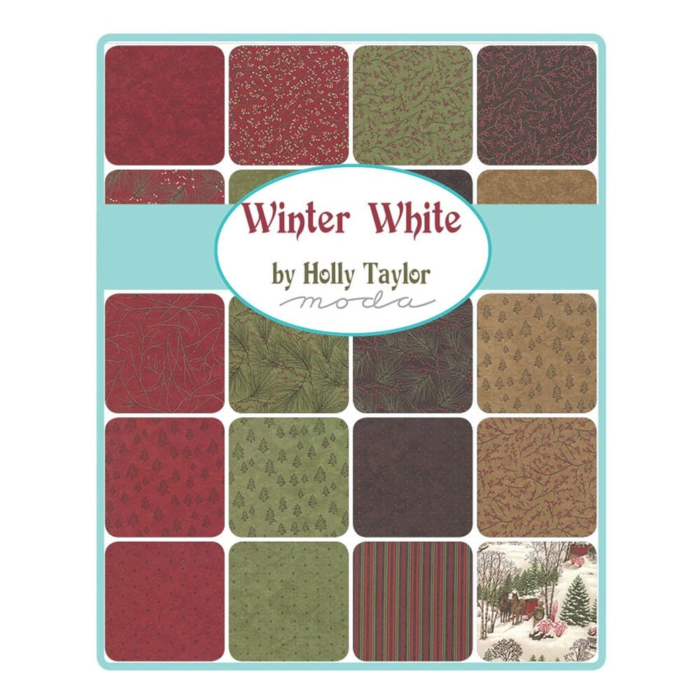 Moda Winter White Jelly Roll Patchwork Quilting 2.5 Inch Strips