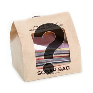 Moda Lucky Dip Wool Scrap Bag Squares, 1/2 lb of Fabric