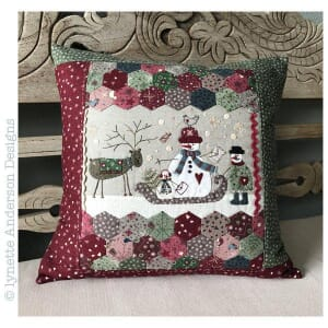 Small Image of Lynette Anderson Designs Sweet Home Pillows Pattern