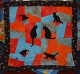 patchwork quilting mixed technique