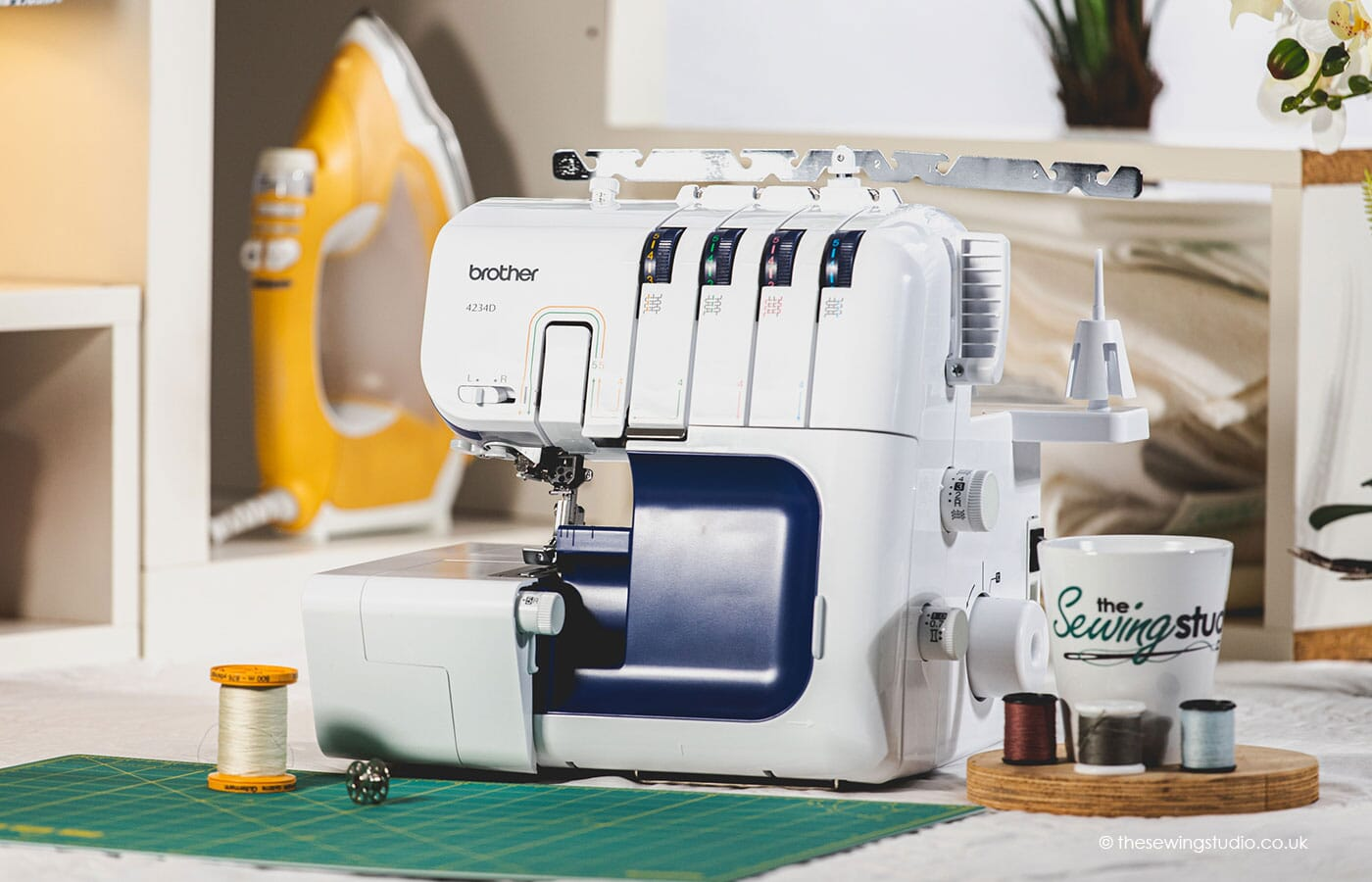 Brother 4234D Overlocker Machine in a Sewing Room