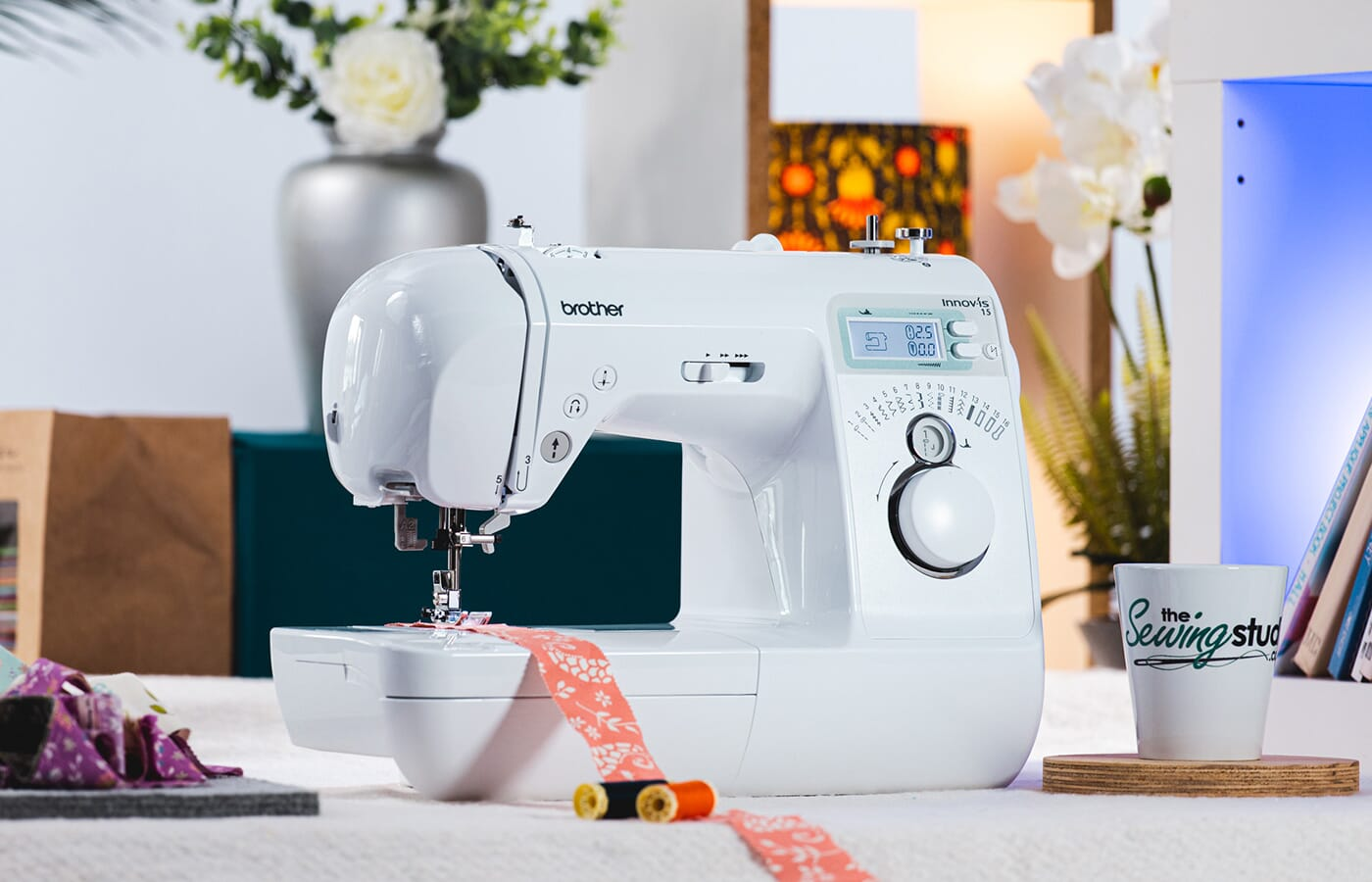 Brother Innov-is 15 Sewing Machine in a Sewing Room