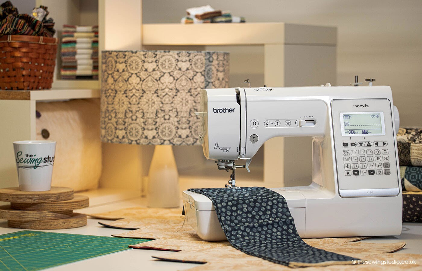 Brother Innov-is A150 Sewing Machine in a Sewing Room