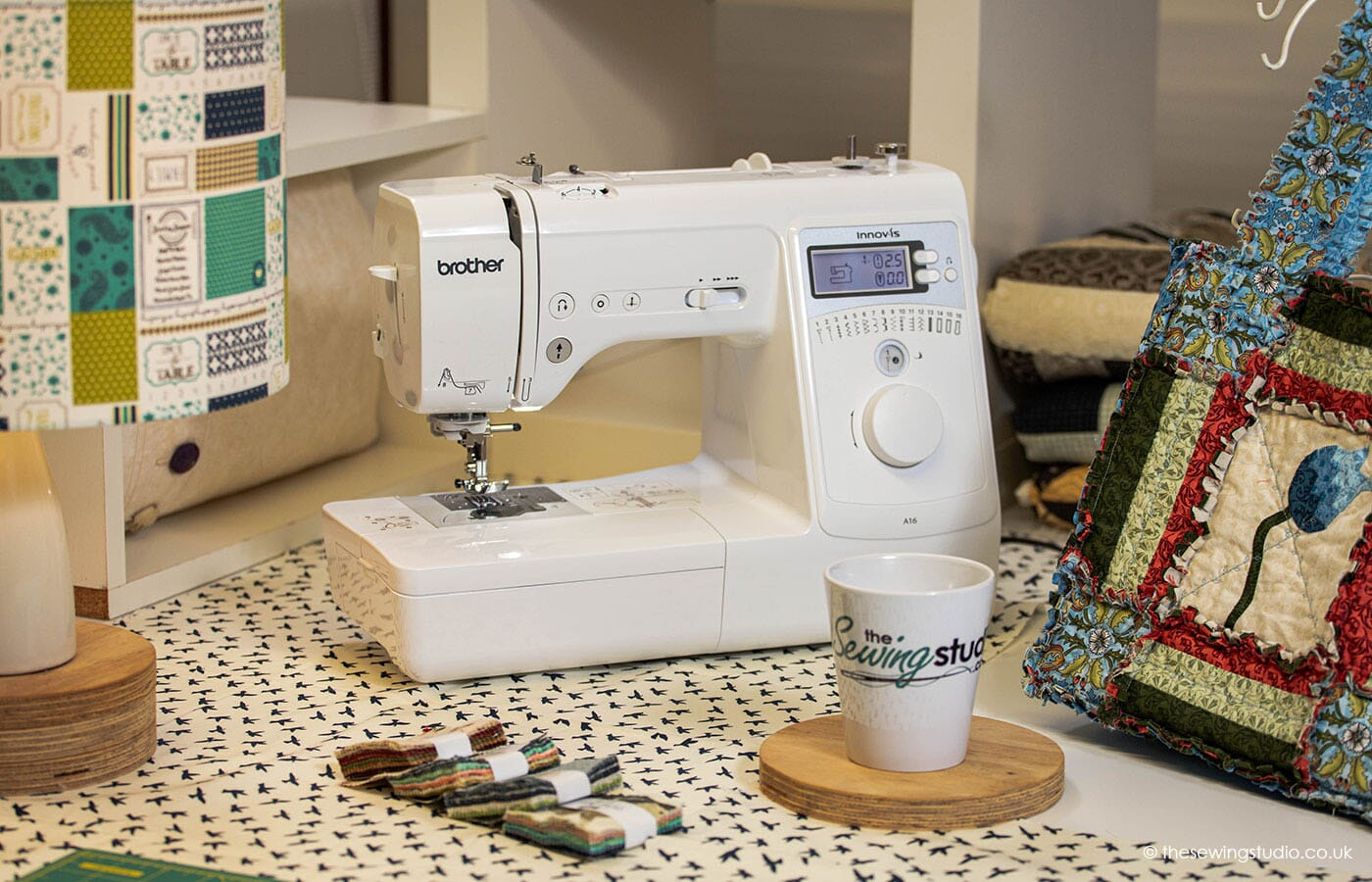 Brother Innov-is A16 Sewing Machine in a Sewing Room