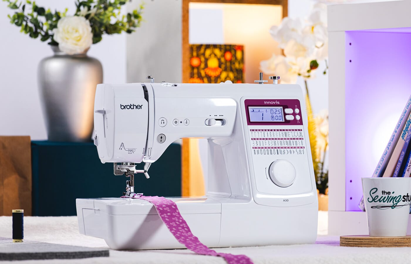 Brother Innov-is A50 Sewing Machine in a Sewing Room