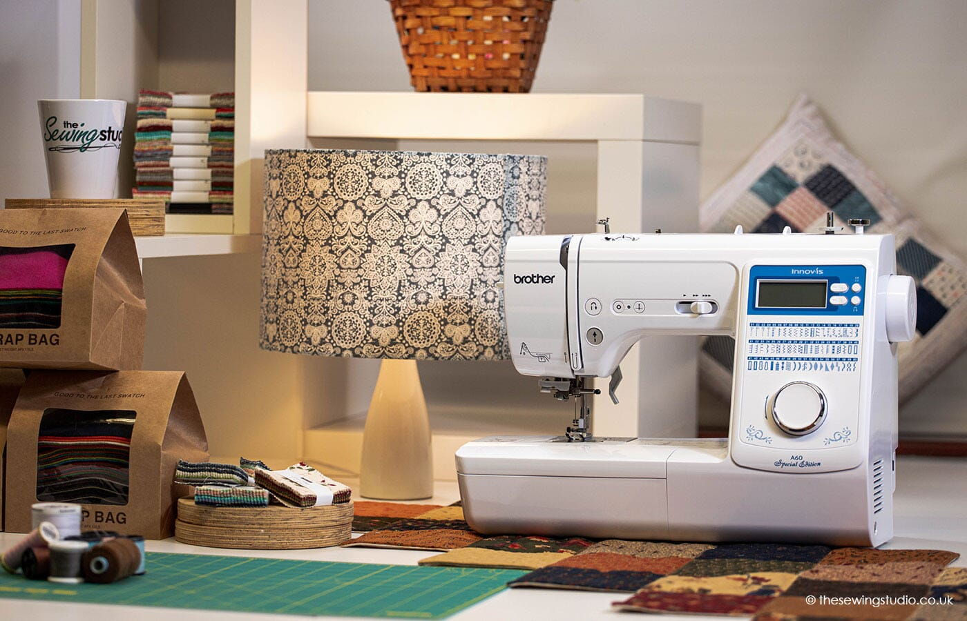 Brother Innov-is A60SE Sewing Machine in a Sewing Room