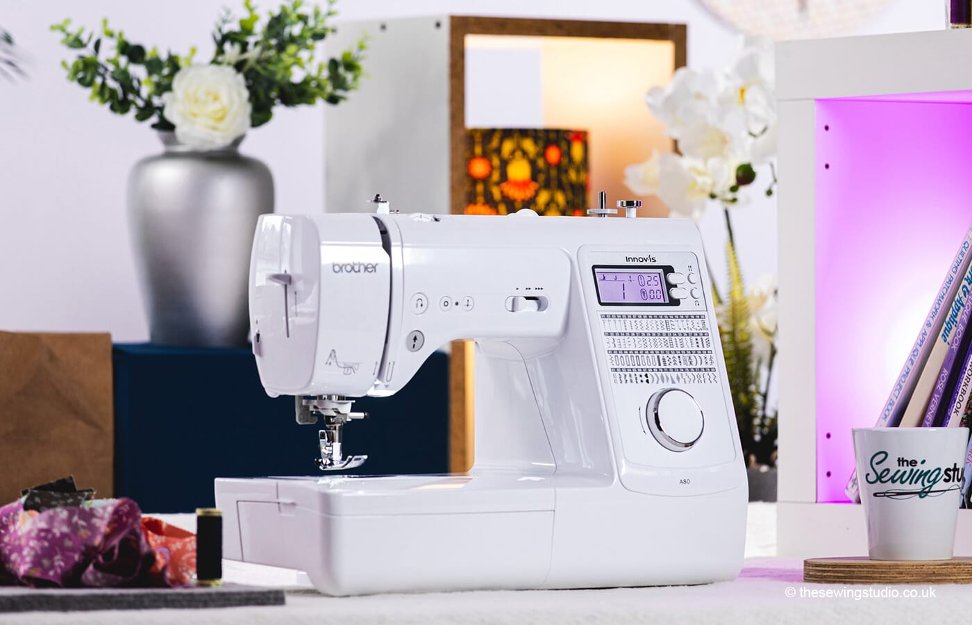 Brother Innov-is A80 Sewing Machine in a Sewing Room