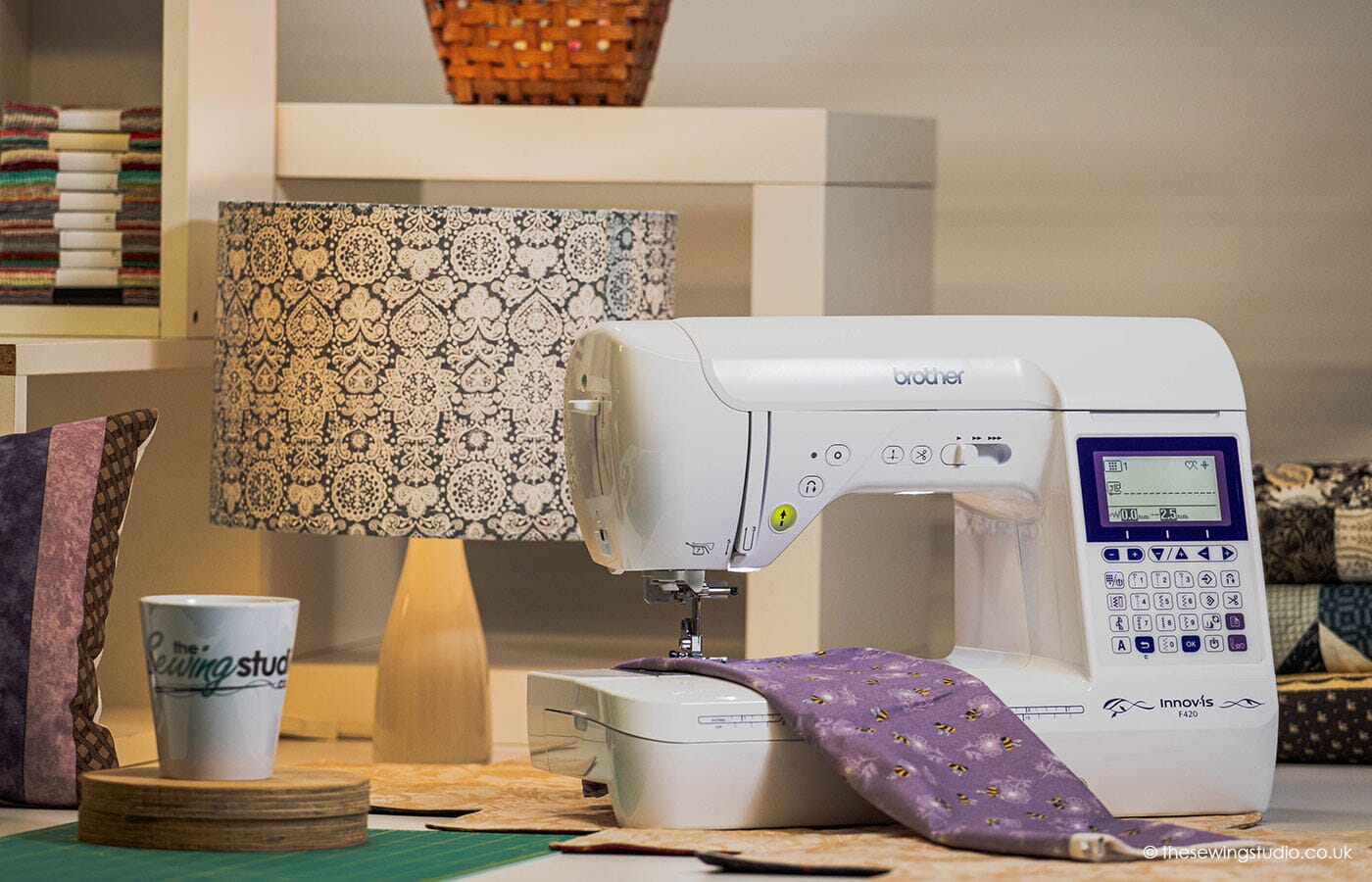 Brother Innov-is F420 Sewing Machine in a Sewing Room