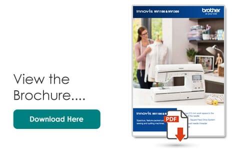 Brother Innov-is NV1100 Product Brochure