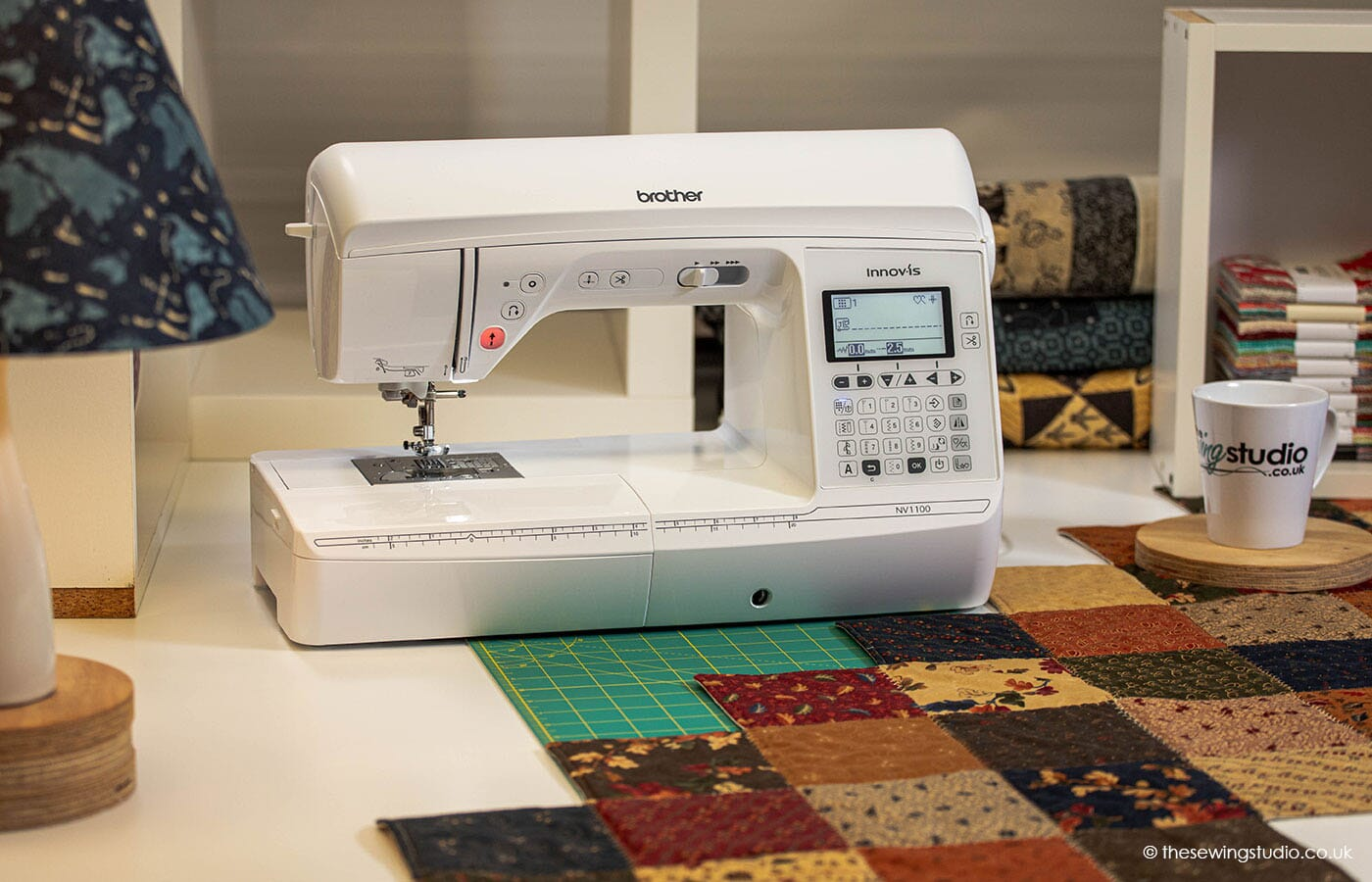Brother Innov-is NV1100 Sewing Machine in a Sewing Room