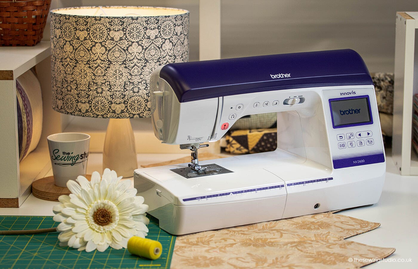 Brother Innov-is NV2600 Sewing Machine in a Sewing Room