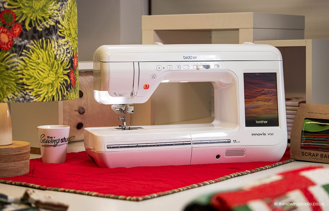 Brother Innov-is VQ2 Sewing Machine in a Sewing Room