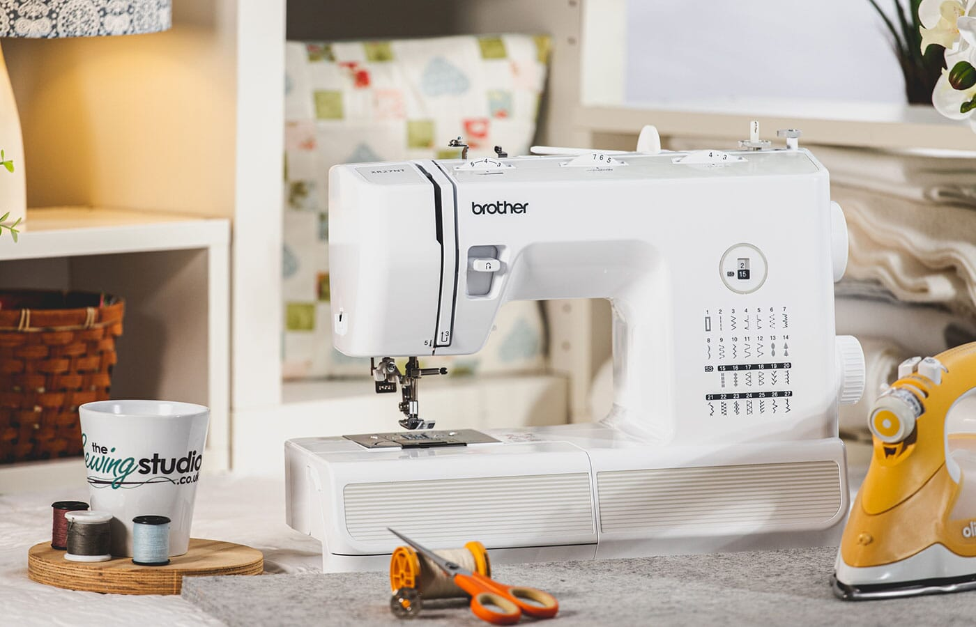 Brother XR27NT Sewing Machine in a Sewing Room