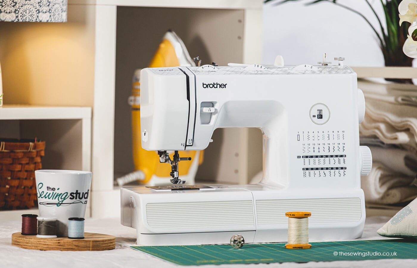 Brother XR37NT Sewing Machine in a Sewing Room