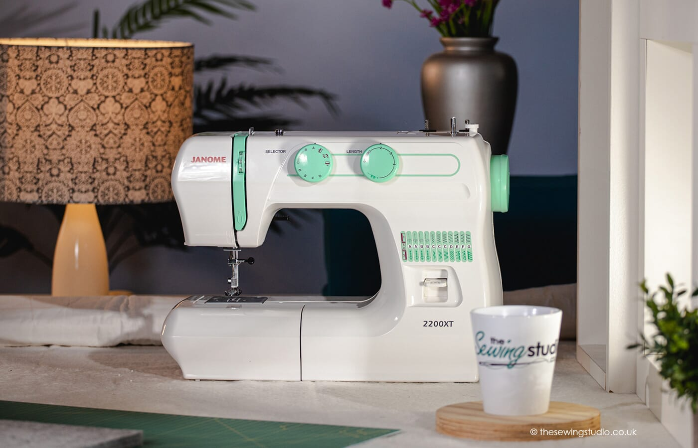 Janome 2200XT Sewing Machine in a Sewing Room