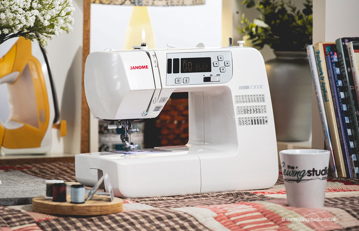 Janome 230DC Sewing Machine in a Sewing Room