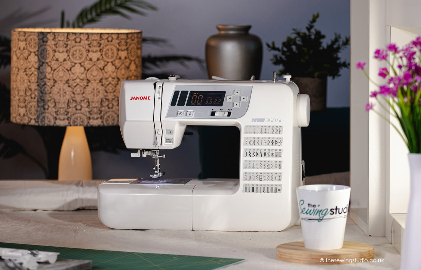 Janome 360DC Sewing Machine in a Sewing Room