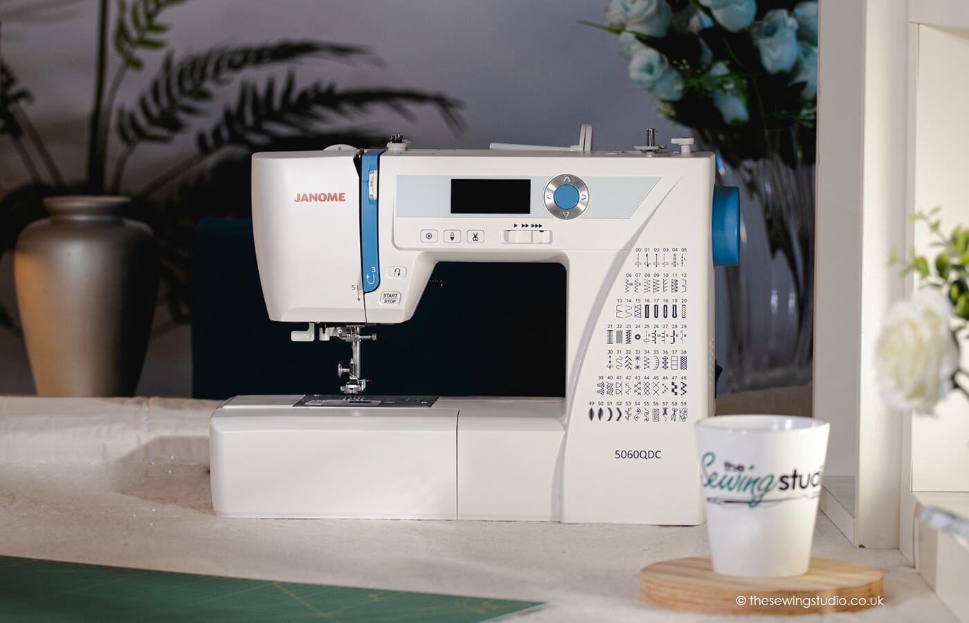 Janome 5060QDC Sewing Machine in a Sewing Room