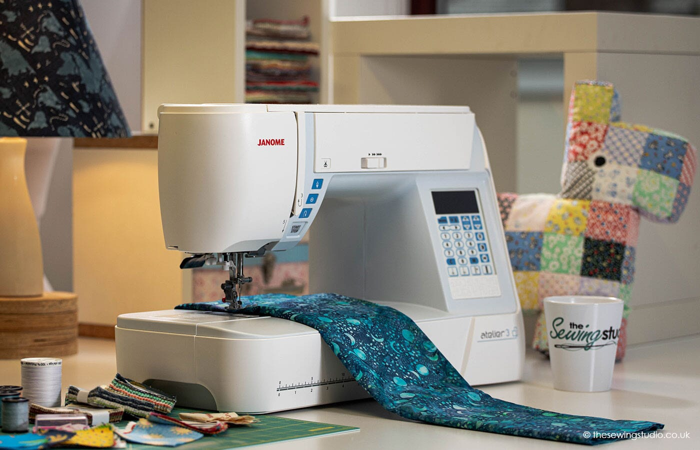 Janome Atelier 3 Sewing Machine in a Sewing Room